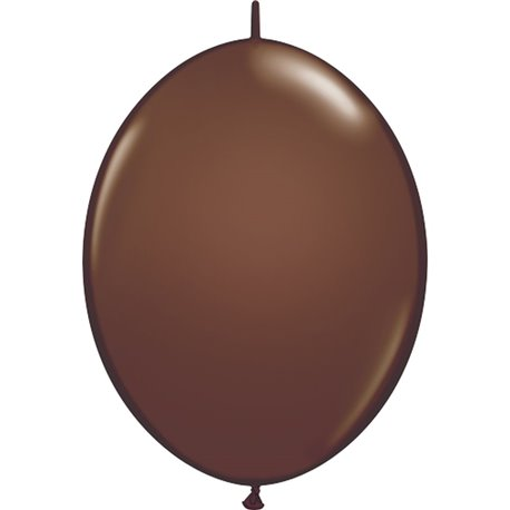 Balon Cony Chocolate Brown, 12 inch (30 cm), Qualatex 65332, set 50 buc