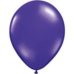 Balon Latex Quartz Purple, 9 inch (23 cm), Qualatex 43702