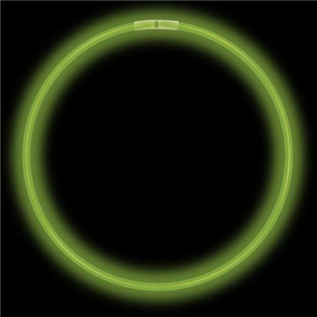 Colier luminos fluorescent verde - 20cm, Amscan 311003-03