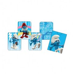 Pack of 4 The Smurfs Party Snap Playing Cards, Amscan 552154