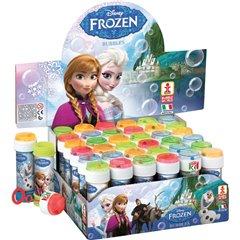 Frozen 60ml Soap Bubbles Party Toy, Dulcop 591000, 1 piece