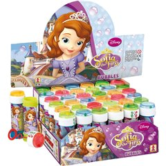 Sofia the First 60ml Soap Bubbles Party Toy, Dulcop 578000, 1 piece