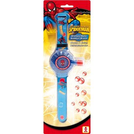 Ceas Spiderman cu Baloane de Sapun, Dulcop 059500, 1 buc