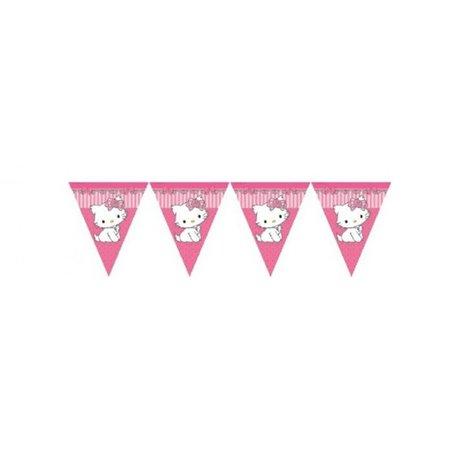 Banner decorativ pentru petrecere - 2.7 m, Charmmy Kitty, Amscan 400226, 1 buc
