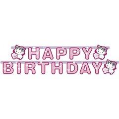 Banner decorativ pentru petrecere - 1.8 m, Charmmy Kitty Happy Birthday, Amscan 552190, 1 buc