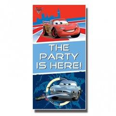 Poster decorativ pentru petrecere, Disney Cars, Amscan 994142, 1 buc