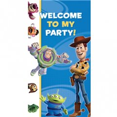 Toy Story Party Here Door Poster, Amscan 994014, 1 piece