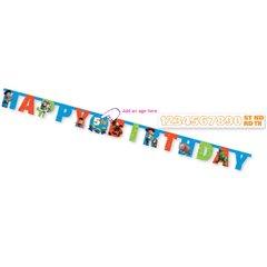 Banner decorativ pentru petrecere 1.6 m, Toy Story, Amscan 996116, 1 buc