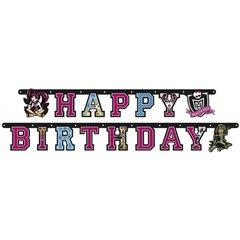 Banner decorativ pentru petrecere - 1.8 m, Monster High, Amscan 552252, 1 buc