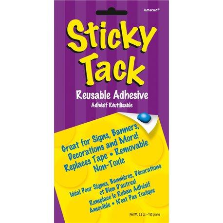 Adeziv pentru bannere si decoratiuni de petrecere 150g, Sticky Tack, Amscan 240555, 1 buc