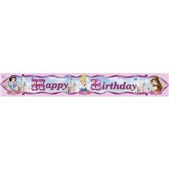 Banner decorativ pentru petrecere 4.65 m, Princess Sparkle, Amscan 996474, 1 buc