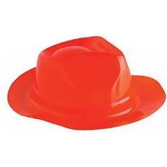 Palarie Al Capone rosie pentru petreceri, Radar IVC55111, 1 buc