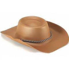 Palarie maro de Cowboy pentru adult, Radar IVC55217, 1 buc