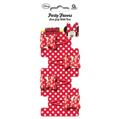 Minnie Mouse Bow Hair Grips, Amscan 995242, Pack of 4 pieces