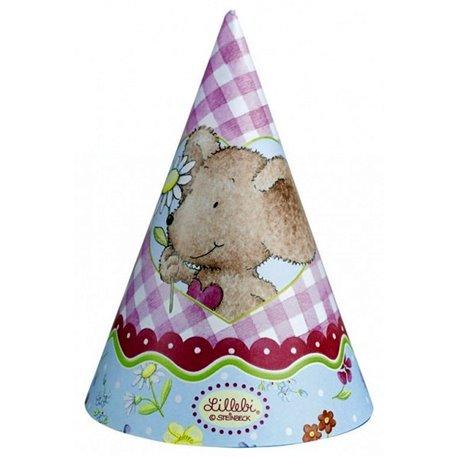 Coif petrecere copii - Lillebi, Amscan RM250122, Set 6 coifuri