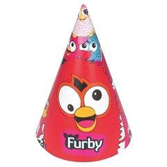 Coif petrecere copii cu Furby, Amscan RM250606, Set 6 coifuri