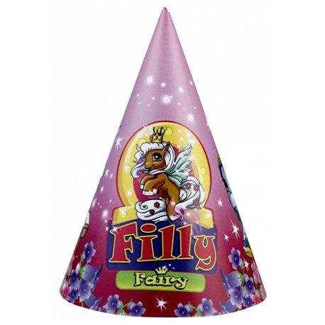 Coif petrecere copii cu Filly Fairy, Amscan RM250126, Set 6 coifuri
