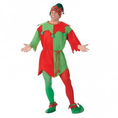 Adults Elf Tunic Unisex Costume - Size Medium, Amscan 996123, 1 Piece