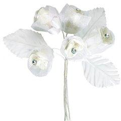 Flori Ivory de pus in piept la nunta, Amscan 340305, 1 buc