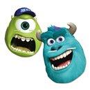 Masti de petrecere Monster University pentru copii, Amscan 996838, set 4 buc
