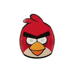 Angry Birds Pink Bird Face Mask - Party Supplies, Amscan RM500254, Pack of 6 Pieces