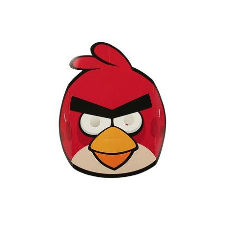 Masti Angry Birds pentru copii, Amscan RM500254, set 6 buc
