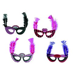 Bachelorette Party Masks - Party Supplies, OOTB 181050, Pack of 4 Pieces