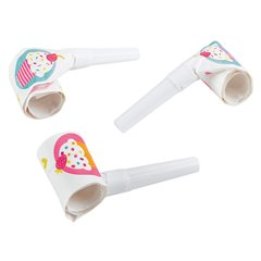 Cupcake Blowouts for parties, Amscan 997219, Pack of 6 pieces