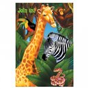 Safari Party Invitation Cards, Amscan 499765, Pack of 6 Pieces
