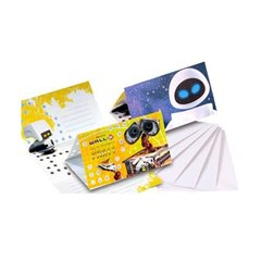 Wall-E Invitation Cards, Amscan RM551345, Pack of 6 Pieces