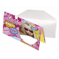 Invitatii de petrecere Barbie, Amscan 551975, Set 6 buc