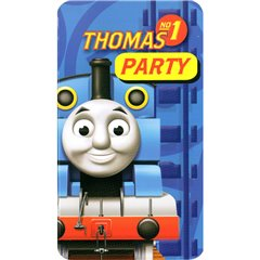 Invitatii de petrecere Thomas and Friends, Amscan 552164, Set 6 buc