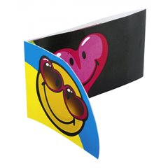 Invitatii de petrecere Smiley Express Yourself, Amscan 552433, Set 6 buc
