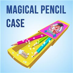 The Magical Pencil Case Amazing Magic Game, 1 Piece