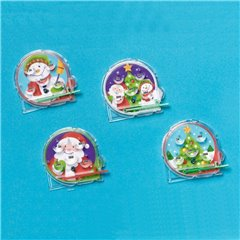 Christmas Pinball Game Amscan 390792, Pack of 12 pieces
