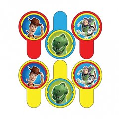 Toy Story Disc Shooters Party Game, Amscan 994028, 1 piece