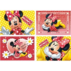 Minnie Mouse Jigsaws, Amscan 995245, Pack of 4 pieces