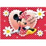 Puzzle Minnie Mouse, Amscan 995245, Set de 4 buc