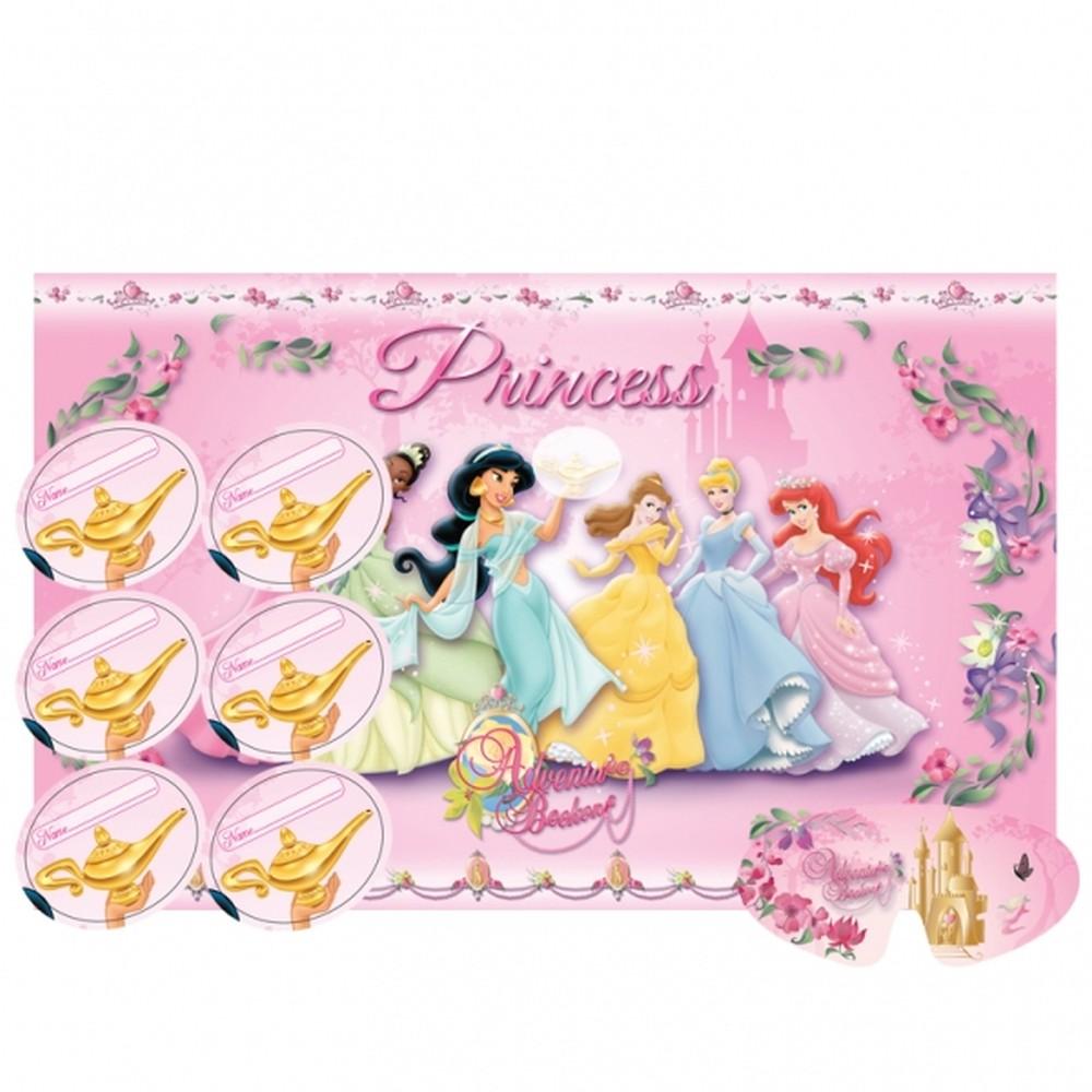 Disney Princess Sparkle Single Level Cake Stand Birthday Party Tableware 996484