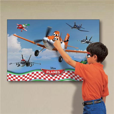 Joc Party Disney Planes - Pin Dusty the Plane, Amscan 996874, 1 buc