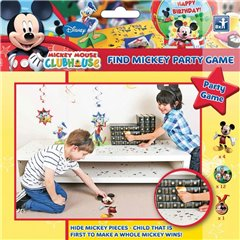 Find Mickey Mouse Game, Amscan 996859, 1 Piece