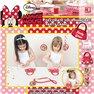"""Joc Party """"Decoreaza Gentuta"""" Disney Minnie Mouse, Amscan 996862, 1 buc"""