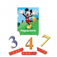 Carti de joc Mickey Mouse, Amscan 994159, set de 4 cutiute