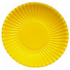 Farfurii galbene 23 cm pentru petreceri, Radar GVI62279, Set 10 buc