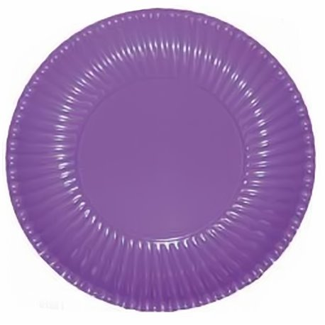 Farfurii violet 23 cm pentru petreceri, Radar GVI62656, Set 10 buc