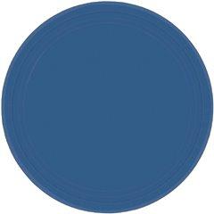 Farfurii Navy Flag Blue 18 cm pentru petreceri, Amscan 54015-74, Set 8 buc