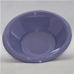 Boluri plastic Hydrangea - Lavender 355ml pentru petreceri, Amscan 552286-59, Set 10 buc
