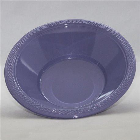 Boluri plastic Hydrangea - Lavender 355ml pentru petreceri, Amscan RM552286-59, Set 10 buc