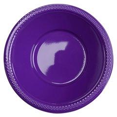 Boluri plastic Purple 355ml pentru petreceri, Amscan 552286-25, Set 10 buc