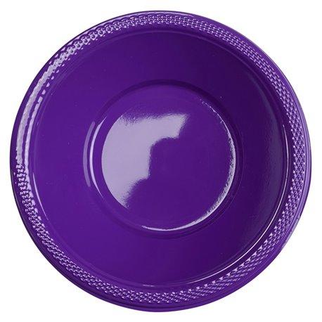 Boluri plastic Purple 355ml pentru petreceri, Amscan RM552286-25, Set 10 buc